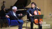 【大提琴】本杰明·桑德-音乐阐释-大师课-6.1-Brahms Cello Sonata in E minor