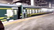现场实拍,黑龙江大庆火车站的K7107次列车!