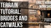 【Eric's Hobby Workshop】快速制作桥梁和天桥