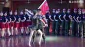 宁波慈溪水兵舞团,又一道靓丽的风景线!