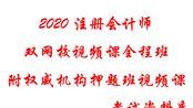 【2020注册会计师 CPA】金鑫松-先行者计划-审计先修