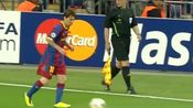 2011年5月28日,巴萨再一次在欧冠决赛与曼联相遇(梅西集锦)