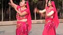 日照山海天碧海路社区新兴舞蹈队印度桑巴舞VA0