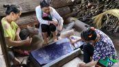 走进贵州黄冈侗寨,这里仿佛与世隔绝,衣服依然手工制作