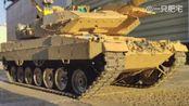 1/16RC豹2A6+实战瞎拍视频