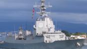 """【西班牙海军】阿尔瓦罗·巴赞级护卫舰""""胡安·德博尔冯""""号(F-102)离开埃尔费罗尔(2016)"""