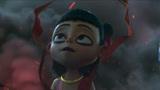 《哪吒之魔童降世》敖丙恢复肉身变成女孩,哪吒一脸懵,这画面太魔性了!