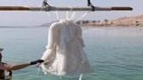 老外把裙子浸泡死海3年,如今却卖出了150万天价,网友:这还能穿?