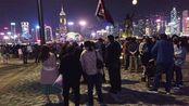 香港人的2020跨年 昨晚的香港维多利亚港