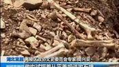 8月25日 13点新闻 湖北宜昌 施工发现大量遗骸 疑为抗日将士骸骨