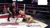 中原飓风 闫西波6秒ko日本拳手,后面分镜头才看清