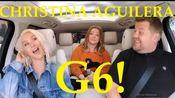 擦妈Christina Aguilera High Notes At Carpool Karaoke