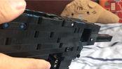 乐高moc全自动抛壳皮筋MP5