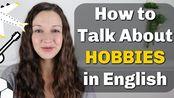 Speak English with Vanessa 20.01.11(生肉+英字)Talk about HOBBIES Fluently in English