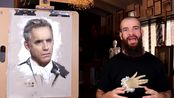 Jordan B. Peterson - Drawing and Painting Exposed. Cesar Santos vlog 057
