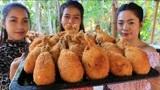 越南姐妹花野外炸鸡腿,厨艺跟肯德基有得一拼,不知道便宜哪家小伙子了