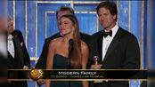 《摩登家庭》获得第69届美国电影电视金球奖电视类音乐/喜剧类最佳系列剧