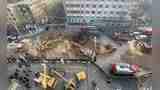 最新救援现场画面!西宁路面坍塌事件已找到6具遇难者遗体