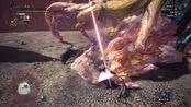 【MHWI】赤龙爆破棍 自由地啼龙 3分44秒 无限制+猫火 【BY: Pochi】