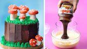 如何逐步制作巧克力蛋糕|最令人满意的巧克力蛋糕装饰创意【Cake Junkie】 - 20200119