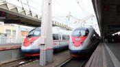 游隼号(Сапсан)商业运营10周年特辑 [俄罗斯铁路/高铁] 760A次 莫斯科→圣彼得堡 全程客室右窗展望POV