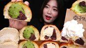 ☆ jungsisters ☆(剪说话)Hong Seol面包店的红豆面包、红豆奶油面包、红豆绿茶奶油面包、奶油奶酪面包 食音咀嚼音(新)