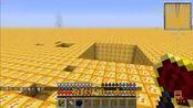 我的世界:进入到幸运大陆,一镐下去能开多少个方块呢