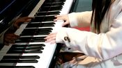在日本街头弹【我曾经也想过一了百了】/街头钢琴即兴