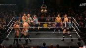 NXT英国双打冠军铁梯赛吊带裤组合VS摩根·韦伯斯特&马克·安德鲁斯VS詹姆斯·德雷克&扎克·吉普森VS大英帝国