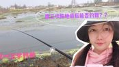 湖北农村解封第7天,晴晴首次去钓鱼,换了3次阵地,结果太搞笑!