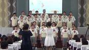 辽宁省抚顺市东洲区章党实验学校迎五四合唱比赛 七年一班