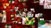 353唯美浪漫婚礼图片粒子汇聚我们结婚啦开场视频片头ae模板ae下载 快手抖音 会声会影 edius pr ae片头 宣传片 视频素材 视频制作