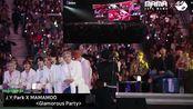 [带小窗]较全舞台_BTS_&_TXT_&_ATEEZ_Reaction_to_J.Y.Park_X_MAMAMOO