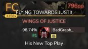 BadGraph_ | GALNERYUS - WINGS OF JUSTICE [FLYING TOWARDS JUSTICE] +HD 98.74% {#1