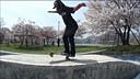 [漂家超清]SAKURA - Isamu Yamamoto, Skateboarding under the cherry trees