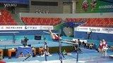 2014年 南宁世锦赛 赛台训练 Marta Pihan-Kulesza (POL) 高低杠 2
