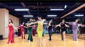 杭州太拉国际东方舞漫漫老师原创肚皮舞手臂组合《红颜旧》集体版