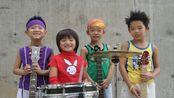 平均年龄6岁少儿电声乐队20088乐队演唱《花房姑娘》