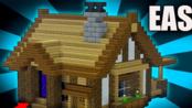 【建筑教程】如何建造一个初期生存小屋【A1MOSTADDICTED MINECRAFT】