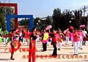 唐城健身 济南市历城区文化馆舞蹈培训班仲宫镇舞蹈班学员表演广场舞
