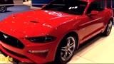 2018款福特野马5.0V8自成一派美式大排量肌肉跑车典范车展实拍