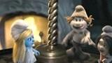 蓝妹妹被抓,蓝爸爸只能带三只蓝精灵去人类世界,希望非常渺茫!