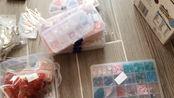 【出材料】521元铜配 合金国产琉璃0.08-0.12送盒子还有颜料和bjd素体娃衣…