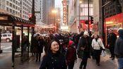 【芝加哥VLOG】又来芝加哥啦|千禧公园|中国城|德国传统圣诞集市|Forever 21