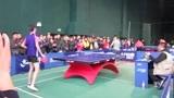 曲靖市第四届运动会乒乓球男团决赛麒麟区VS宣威市第一盘第二局