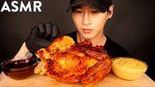 【zach choi】助眠全罗蒂塞里鸡+核子火和奶酪酱慕克邦(不说话)吃的声音(2019年10月11日10时30分)