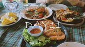 【耳小禾】春节VLOG 日更DAY11 日常的镜头 去甲米网红餐厅吃了顿海鲜大餐 泰国旅行vlog 甲米奥南海滩