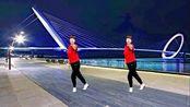 《月亮弯弯在天边》火爆网红歌曲健身操,时尚零基础舞步一学就会