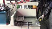 【客户现场】建筑铝模板定尺锯视频-工业铝型材液压切割机-DS邓氏全自动数显定尺锯 适合长料切割