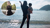 王岳伦李湘为女儿庆生,王诗龄越长越富态像翻版妈妈